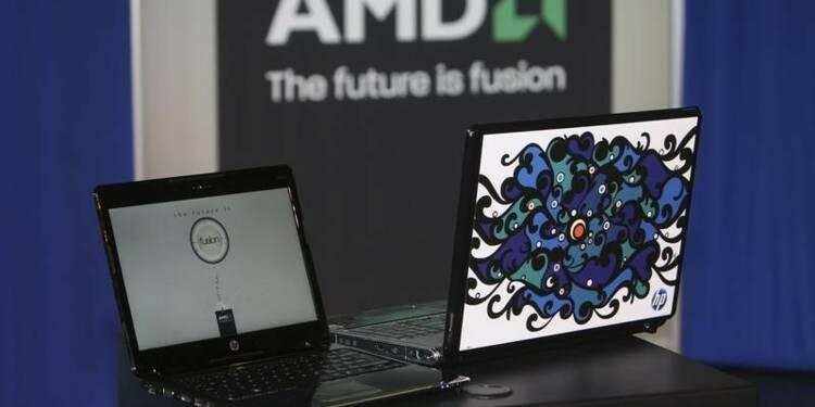 AMD déçoit avec sa prévision de ventes, le titre baisse