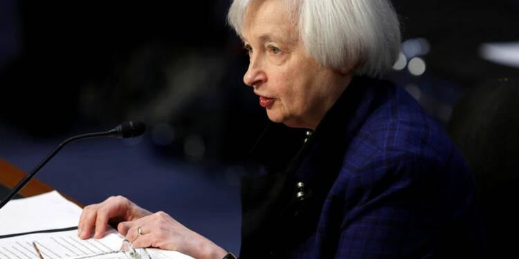 Yellen déterminée à aller au bout de son mandat à la Fed