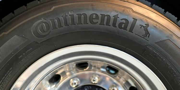 Objectif confirmé pour Continental après un bénéfice en légère hausse