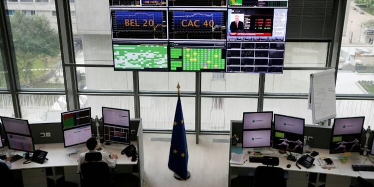 Cinquième séance de baisse pour la Bourse de Paris