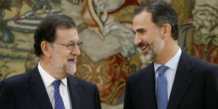 Mariano Rajoy investi pour un second mandat en Espagne