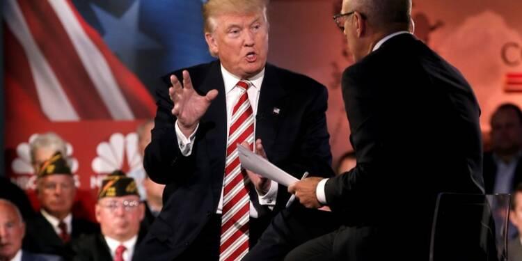 Donald Trump juge Vladimir Poutine supérieur à Barack Obama