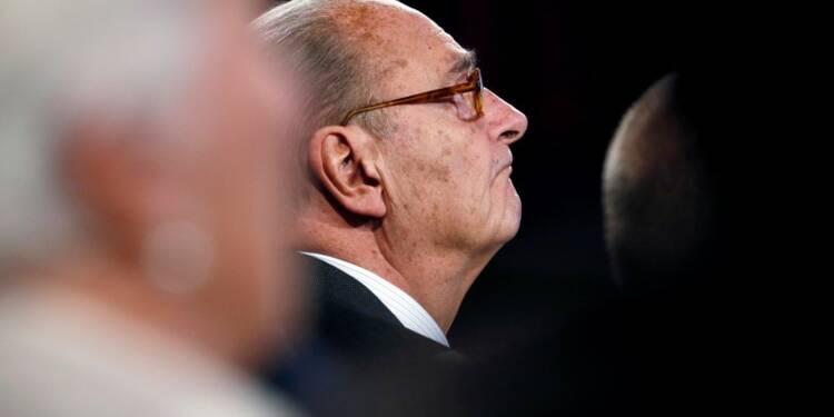 Chirac hospitalisé à Paris pour une infection pulmonaire
