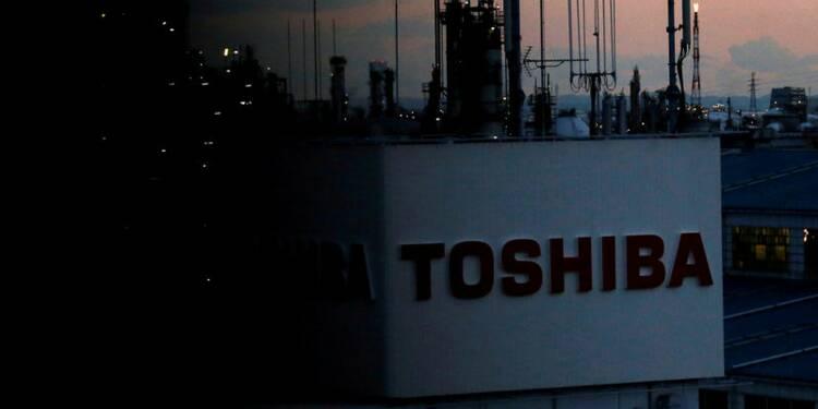 Toshiba propose des titres de ses puces mémoire en garantie de prêts