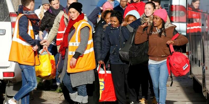 Départ des derniers occupants du camp de Calais