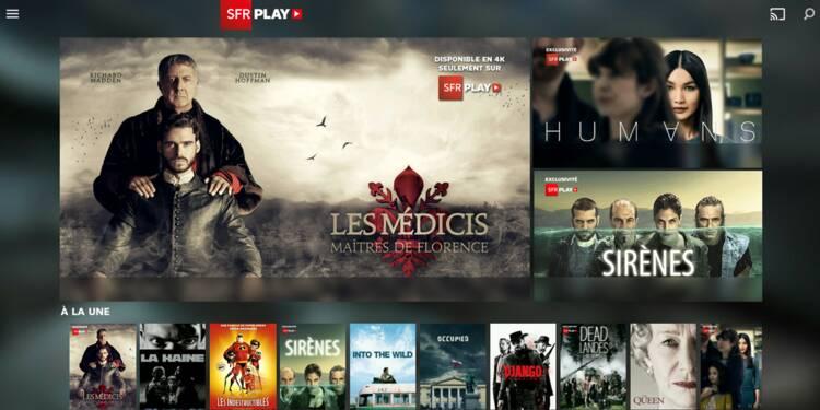 Séries TV : que vaut SFR Play par rapport à Netflix, Canalplay, OCS et Amazon Prime ?