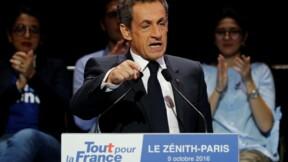 Sarkozy en démonstration à Paris à la recherche d'un nouvel élan