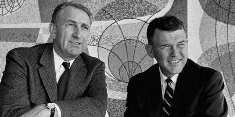 Bill Hewlett (1913-2001) et David Packard (1912-1996), HP : ils ont libéré la créativité des salariés en leur accordant une confiance totale