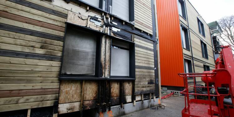 Tentative d'incendie du futur centre d'accueil pour SDF de Paris