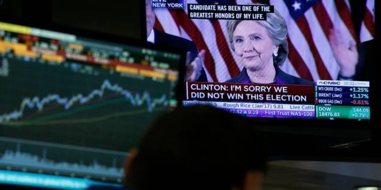 Yoyo des marchés américains, rassurés d'avoir un président-élu