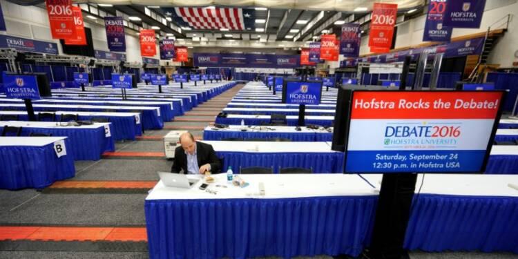 Le débat Clinton-Trump devrait battre des records d'audience