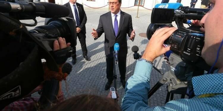 Pour Hollande, la France ne peut pas défendre seule l'Europe