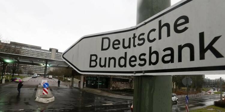 Les étrangers préfèrent déposer leurs euros à la Bundesbank