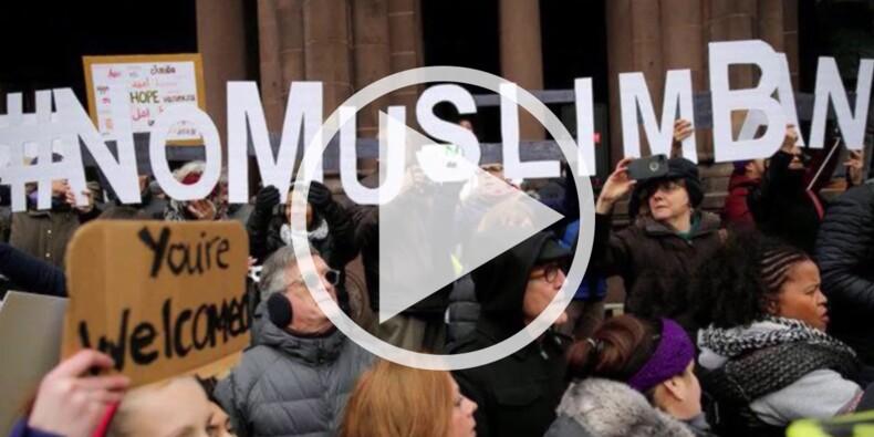 """Les patrons d'Apple, Facebook et Uber vent debout contre le """"muslim ban"""""""