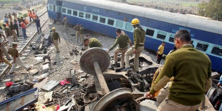 Déraillement de train en Inde, près de 120 morts