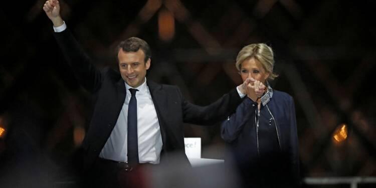 """Macron appelle à élire une """"majorité de changement"""" le 18 juin"""