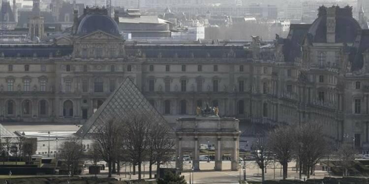 """""""Retour à la normale"""" sur l'esplanade du Louvre"""
