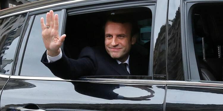 Macron élu président avec plus de 65% face à Le Pen, selon des estimations