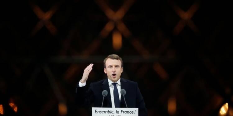 Macron sera ferme dans les négociations sur le Brexit