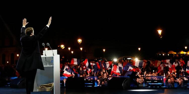 Louvre, jeunesse et solennité lancent l'ère Macron