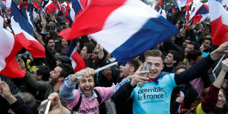 Macron remporte plus de 66% des suffrages, selon des chiffres provisoires