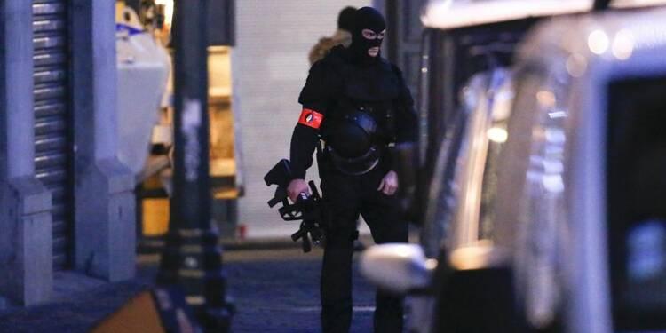 Cinq personnes interpellées puis relâchées à Bruxelles