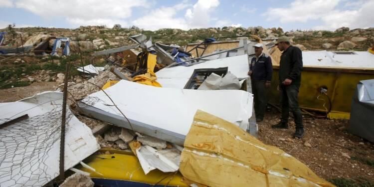La France préoccupée par le rythme des démolitions par Israël