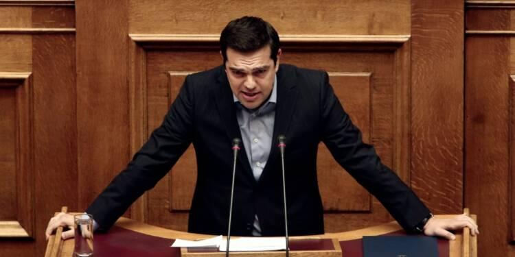 "Après l'eurogroupe, la Grèce prête à ""tourner la page"" de la crise, selon Tsipras"