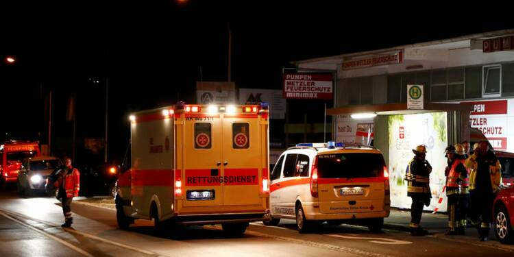 Une agression dans un train en Bavière revendiquée par l'EI