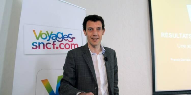 Voyages-sncf.com: hausse de 3,1% du volume d'affaires en 2015