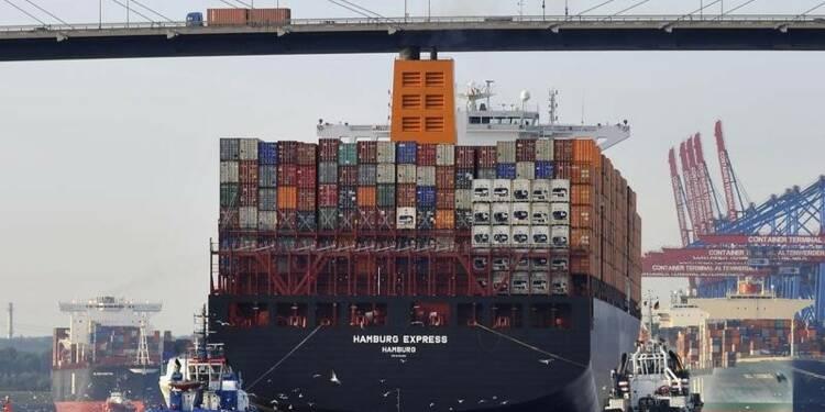 Baisse plus marquée que prévu des exportations allemandes