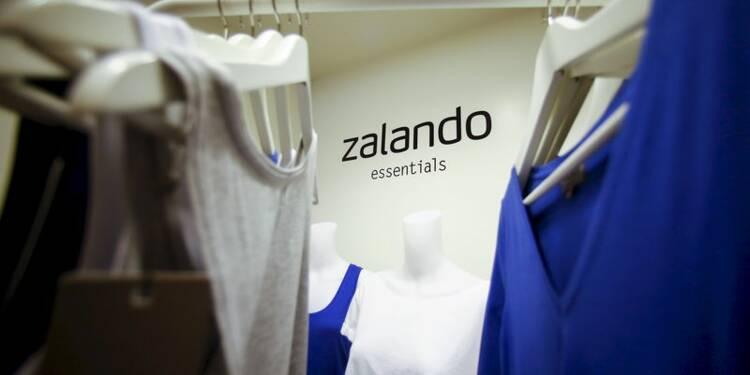 Les ventes trimestrielles de Zalando déçoivent