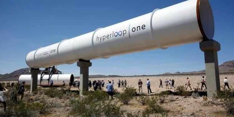 Premier test réussi pour le train du futur Hyperloop