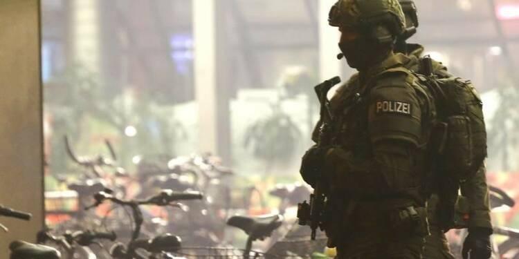 Alerte réduite à Munich, le risque n'est plus jugé imminent