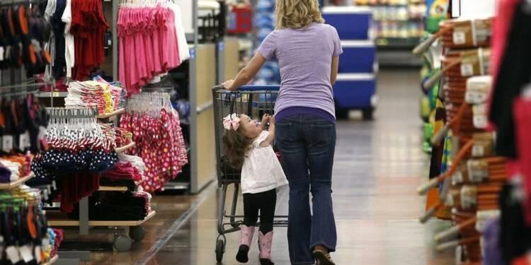 Le moral des ménages américains moins dégradé que prévu en mars