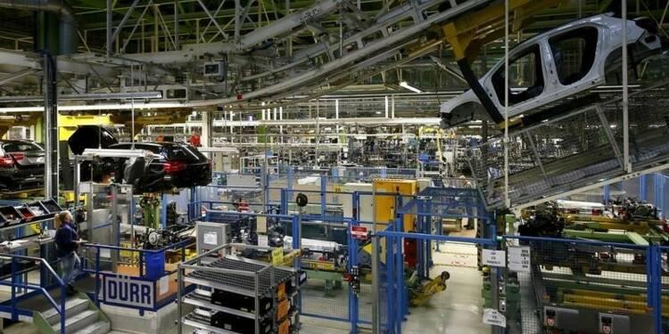 Les commandes à l'industrie en Allemagne meilleures que prévu