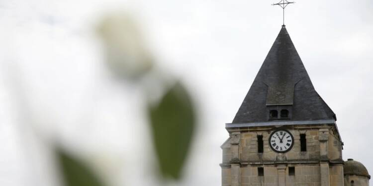 """Le second assaillant de l'église était fiché """"S"""""""