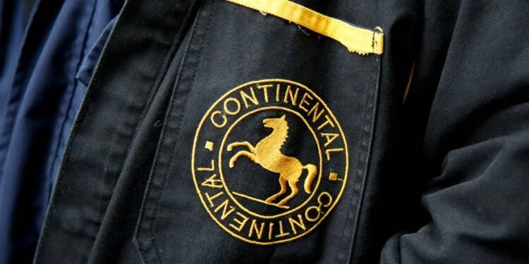 Continental craint un ralentissement de la production automobile