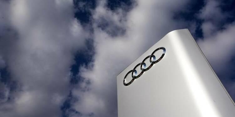 Audi prudent en matière d'investissements pour 2016