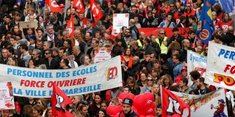 Mobilisation massive à Marseille contre la loi Travail