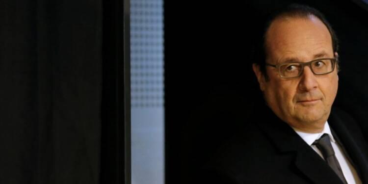 La cote de confiance de François Hollande chute de 12 points