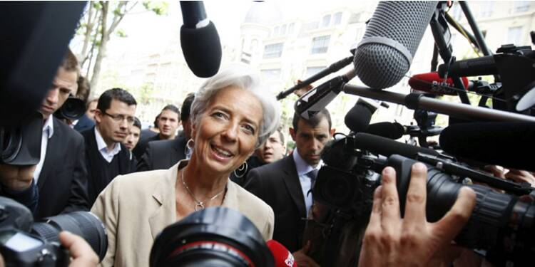 FMI : Lagarde en pole position dans la course à sa propre succession
