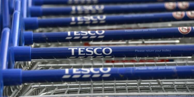 Première hausse des ventes trimestrielles de Tesco en trois ans