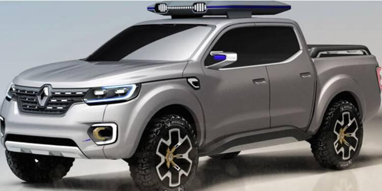 Renault se met en route pour l'Amérique avec le nouveau pick-up Alaskan