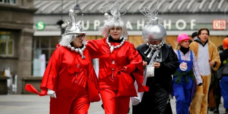 Coup d'envoi sous haute sécurité du carnaval de Cologne