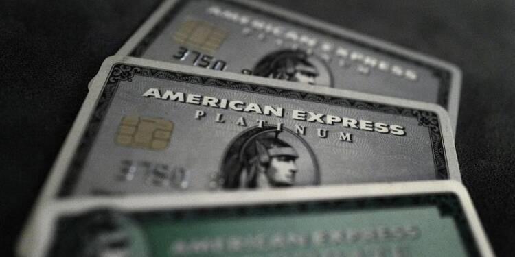 AmEx affiche la première hausse de son CA en cinq trimestres