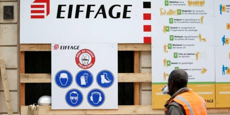 Repli du chiffre d'affaires d'Eiffage en 2015