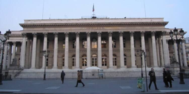 Journée blanche à la Bourse de Paris