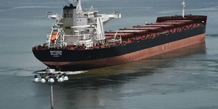 Premiers essais sur le canal de Panama élargi