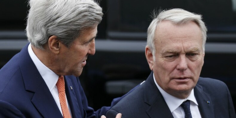 Jean-Marc Ayrault commet un lapsus à propos de la Syrie